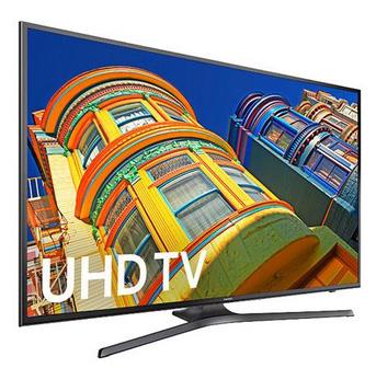 뉴에그 40% 할인쿠폰 + $30 리베이트 삼성 50인치 Smart TV UN50MU6300FXZA