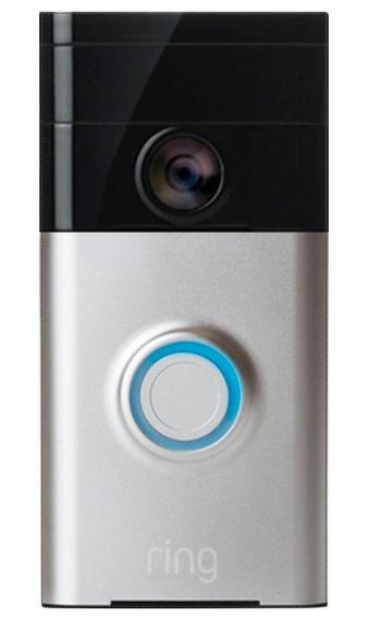 Ring – Video Doorbell – Satin Nickel Soon $179.99 -> 블랙프라이데이 $99.99